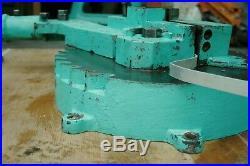 Super heavy duty bar / metal bender'Besco' Vintage cast iron. Pallet to Uk