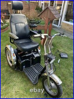 TGA Super Sport 8mph Electric Heavy Duty Disability mobility Trike scooter