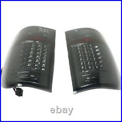 Tail Light For 99-2007 Ford F-250 Super Duty Set of 2 Driver and Passenger Side