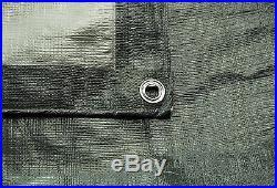 Tarpaulin/groundsheet, Super Tough Extra Heavy Duty Grey/silver. All Sizes