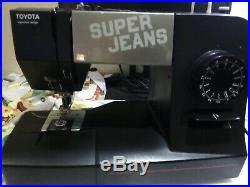 Toyota Super J 15 PE Super Jeans Heavy Duty Sewing machine
