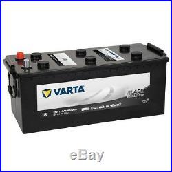 Varta I8 Promotive Black 12V 120Ah LKW Starter Batterie 680A Schlepper Traktor