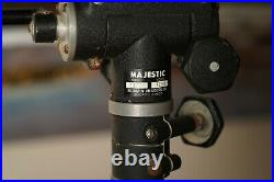 Vintage Majestic 4800 Tripod With Majestic 1200 Head Super Heavy Duty 7+ Feet