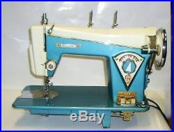 Vintage Visetti 606 Super De Luxe Heavy Duty Sewing Machine