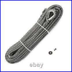 Warn 104232 Replacement Standard Duty Synthetic Rope 90 Ft Long 3/8 Diameter