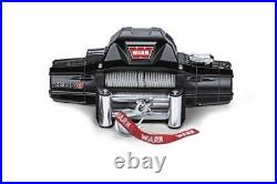 Warn 88980 ZEON Series 8 12 Volt 8000 Lb Capacity Winch With 100 FT Steel Rope
