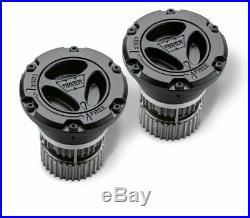 Warn 95060 Premium Manual Locking Hubs (Black) For 2005-2020 Ford Super Duty