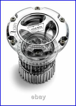 Warn 95070 Chrome Preminum Manual Locking Hubs For 2005-2018 Ford Super Duty