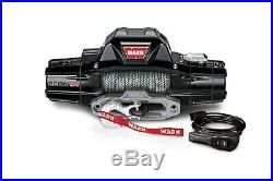 Warn 95950 Zeon 12-S Electric 12 Volt 12,000 lbs Hawse 80 ft. Synthetic Rope