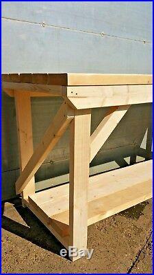 Wooden Workbench 3FT to 6FT Super Heavy Duty
