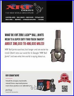 XRF Lifetime WARRANTY Upper Lower Ball Joint KIT F250 F350 Ram 2500 3500 4x4