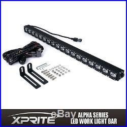 Xprite 30in CREE LED Work Light Bar 90W Super Bright for ATV UTV SBS Off-Road