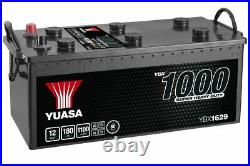 YUASA YBX1629 629SHD Super Heavy Duty Commercial Vehicle Battery 12V 180Ah