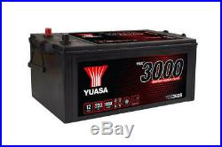 YUASA YBX3625 625SHD 12v 220ah 1150A Super Heavy Duty SMF Battery