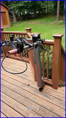 Yakima Doubledown Ace 4 Tilt Hitch Mount Heavy Duty Travel Bicycle Rack With Locks