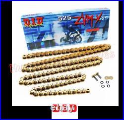 Yamaha MT09 DID ZVMX Gold X-Ring Super Heavy Duty Drive Chain