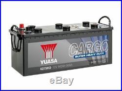 Yuasa 627SHD Cargo Super Heavy Duty Battery 12V 143Ah 900A