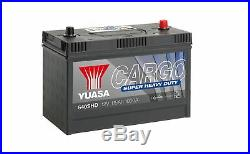 Yuasa Cargo Super Heavy Duty Battery (SHD) 115Ah 1000CCA 640SHD