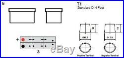 Yuasa Cargo Super Heavy Duty Battery (SHD) 143Ah 900CCA 627SHD