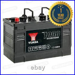 Yuasa YBX1664 12V 110Ah 750A Super Heavy Duty Battery