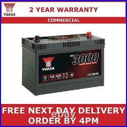 Yuasa YBX3642 Cargo Super Heavy Duty Commercial Battery 12V 110Ah 925A